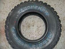Four LT245/75R16 Buckshot Maxxis Mudder 6 ply Tires