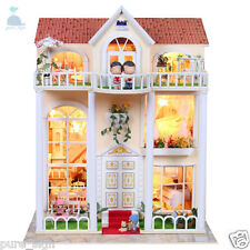 DIY Handcraft Miniature Project Kit Wooden Play Dolls House My Pink Little