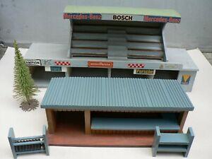 Gebäude Deko Tribühne Boxe Laden Baum für Carrera Bastler