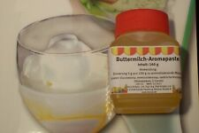 (2,50€/100 g) Buttermilch Aromapaste/Sirup zum Aromatisieren von Lebensmittel
