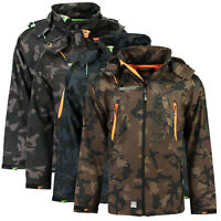 Giacca Giubbotto Jacket Softshell Techno Men Camo GEOGRAPHICAL NORWAY Uomo Men C