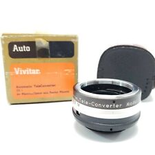 Vivitar 2X-1 Automatic TeleConverter for Mamiya/Sekor & Pentax Mounts Case & Box