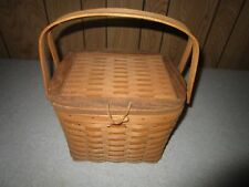 Longaberger Signed 1992 Hostess Remembrance Basket A Great Gift Present