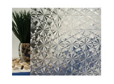 "Clear Kaleidoscope Static Cling Window Film, 35"" Wide x 25 ft"