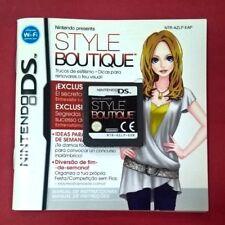 New Style Boutique - NINTENDO DS - USADO - EN BUEN ESTADO