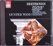 Günter WAND BEETHOVEN Symphony No.6 Pastorale EMI DHM CD 1986 Gunter Sinfonie