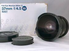 🟢TOP MINT🟢MAMIYA Sekor Fisheye Z 37mm f4.5 W for RZ67 II IID from JAPAN 327
