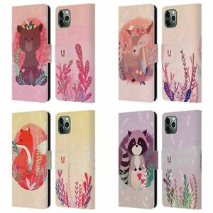 HEAD CASE WOODLAND ANIMALS LEATHER BOOK CASE & WALLPAPER FOR APPLE iPHONE PHONES