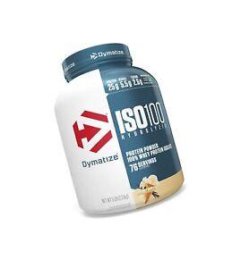 Dymatize ISO 100 Whey Protein Powder with 25g of Hydrolyzed 100% Whey Isolate...