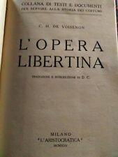 Erotic voisenon Opera Liberal Aristocrat 1925
