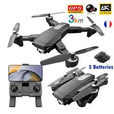 Drone PRO Caméra 6K 5G Wifi FPV /Position GPS/Follow-me/Moteur sans balais/ 3km