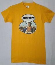 New listing Vtg 70s Mork & Mindy Shazbot Robin Williams T-Shirt Deadstock (U)