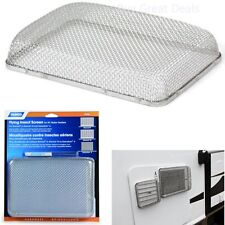 RV Water Heater Insect Screen Trailer Camper Fly Mosquito Steel Mesh Cover Bugs