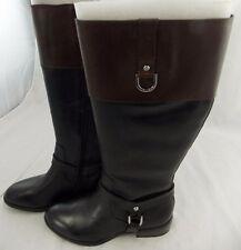 Lauren Ralph Lauren MESA Boots 7B   $179.00 Black/ Brown