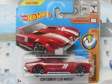 Hot Wheels 2017 #170/365 CCM COUNTRY CLUB Muscolo Rosso MUSCOLO Mania