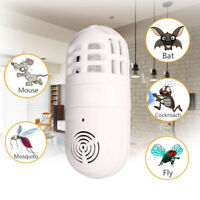 Electric Ultrasonic Repellent Mosquito Killer Insect Fly Bug Zapper Trap Catcher
