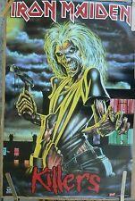 RARE IRON MAIDEN KILLERS 2004 VINTAGE ORIGINAL MUSIC POSTER