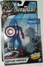 Marvel Avengers Captain America movie series Walmart exclusive 6 inch new sealed