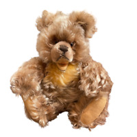 Vintage Steiff ZOTTY Curly Mohair Jointed Teddy Bear Plush Button Circa 50/60s