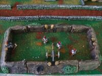 J4 Wooden Trenches For wargames scenery, 28mm Bolt action and wargames Terrain.