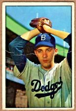 BILLY LOES - 1953 BOWMAN COLOR #14