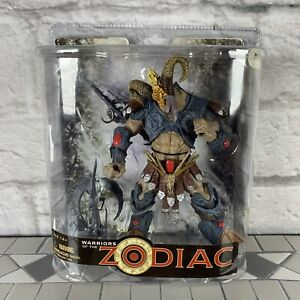 Mcfarlane Toys Warriors Of The Zodiac Aries 2008 Action Figure MOC
