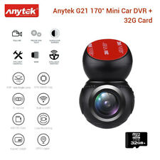 Anytek G21 HD 1080P 30fps 170 Degree Wifi GPS Car DVR Video Recorder & 32GB Card