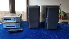 Kenwood Musik Anlage Disc player DP-SE 7, Amplifier Tuner Stereo R-SE 7 + Boxen