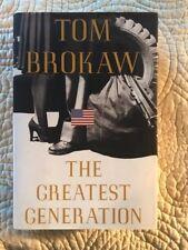 The Greatest Generation by Tom Brokaw (1998, Hardcover)Like New