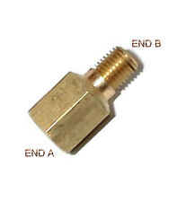 "1/8"" Female NPT to 1/8 Male BSPP Coupling Brass Pipe Fitting Gauge adapter NP-8N"