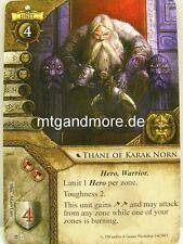 Warhammer Invasion - 1x Thane of Karak Norn  #001 - Cataclysm