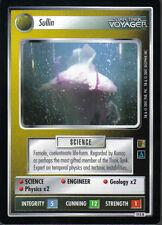 STAR TREK CCG THE BORG RARE CARD SULLIN