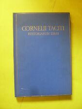 GIARRATANO - CORNELII TACITI - REALE ACCADEMIA D'ITALIA