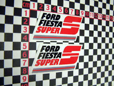 2 Small Autocollant pour MK1 FORD FIESTA Supersport