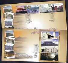 2009 Malaysia World Heritage Sites (UNESCO) Stamp & Mini-Sheet on 2 FDC (Melaka)