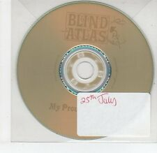 (EG733) Blind Atlas, My Proud Mountains - DJ CD