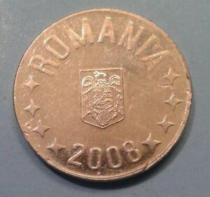 Romania 10 Bani coin2008