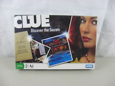 Clue Discover the Secrets Family Board Game Mystery 2008 Hasbro~Factory Sealed!
