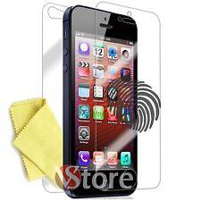 4 Pellicola Opaca Per iPhone 5 5C 5S SE Fronte Retro Salva Schermo Antiriflesso