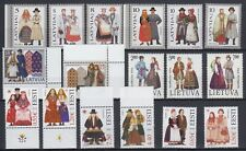 "Estonia / Latvia / Lithuania - 1992-2016 ""Folk Costumes"" (MNH)"