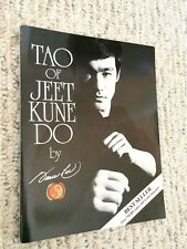 Tao of Jeet Kune Do - Martial Arts BOOK - by Bruce Lee and Linda Lee (1975)