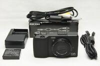 """""""380 shots"""" RICOH GR DIGITAL IV 10.4MP Digital Camera Black #201122b"""
