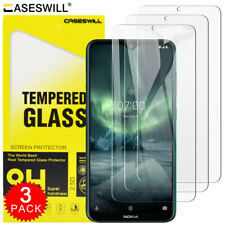 For Nokia 7.2 / 6.2 / 1.3 / 8.3 Premium HD-Clear Tempered Glass Screen Protector