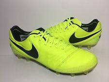 new product e080c 191d2 Mens Nike Tiempo Legend VI AG-Pro Volt Soccer Cleats Size 6.5 (844593 708