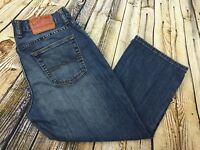 Lucky Brand Classic Fit Crop Capri Jeans Womens Sz 29 (29 x 21.5) Blue Denim