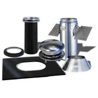 Selkirk Metalbestos 6T-PCK Pitched Ceiling Support Kit Stainless