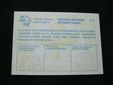 INTERNATIONAL REPLY COUPON USED (GREAT BRITAIN POSTMARK)