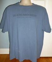 Vintage 1000 Acres Ranch Resort Stony Creek NY T-Shirt Extra-Large XL
