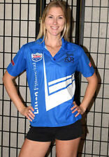 Moto Wear NHRA Top Fuel Pit Crew Jersey Shirt - Blue - Women's Small