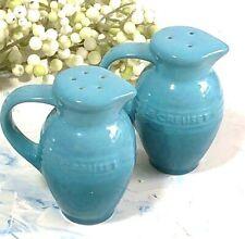Very Rare !! Le Creuset Salt & Pepper Turquoise Blue Gradation Beautiful Shaker